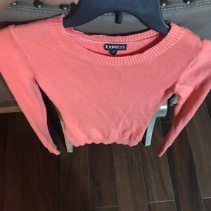 Coral longsleeve sweater